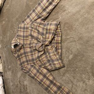 Tops - Long Sleeve, Cropped, Flannel?